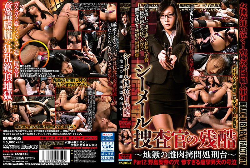 DXNH-005 - Treating A Shemale Investigator With Cruelty ~The Hellish Female Torture Stand~ Part 2: The Hole Of Rina Nojima. The Tragic Convulsive Wailing Orgasms ropes & ties shemale training anal